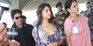 srk-suhan-khan-mumbai-airport