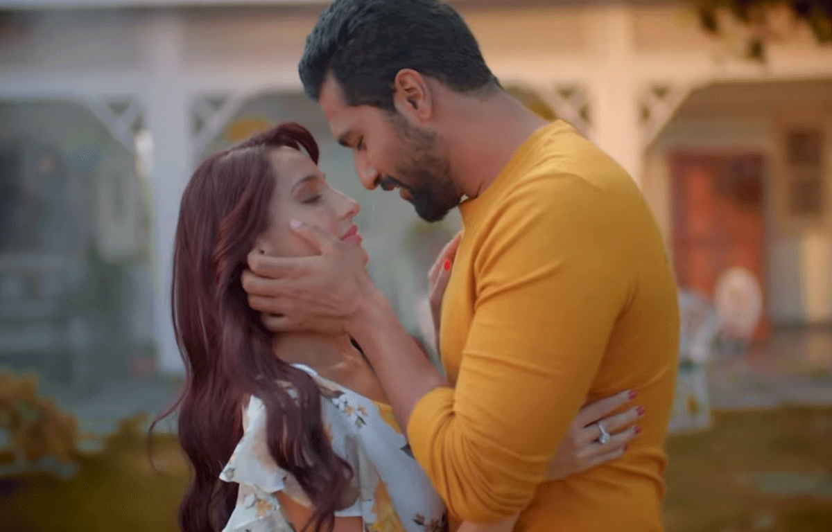 Pachtaoge-new-song-Nora-Fatehi-cheats-on-hubby-Vicky-Kaushal-in-heartbreaking-music-video