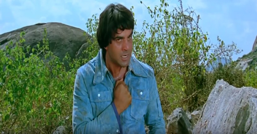 Dharmendra in sholay