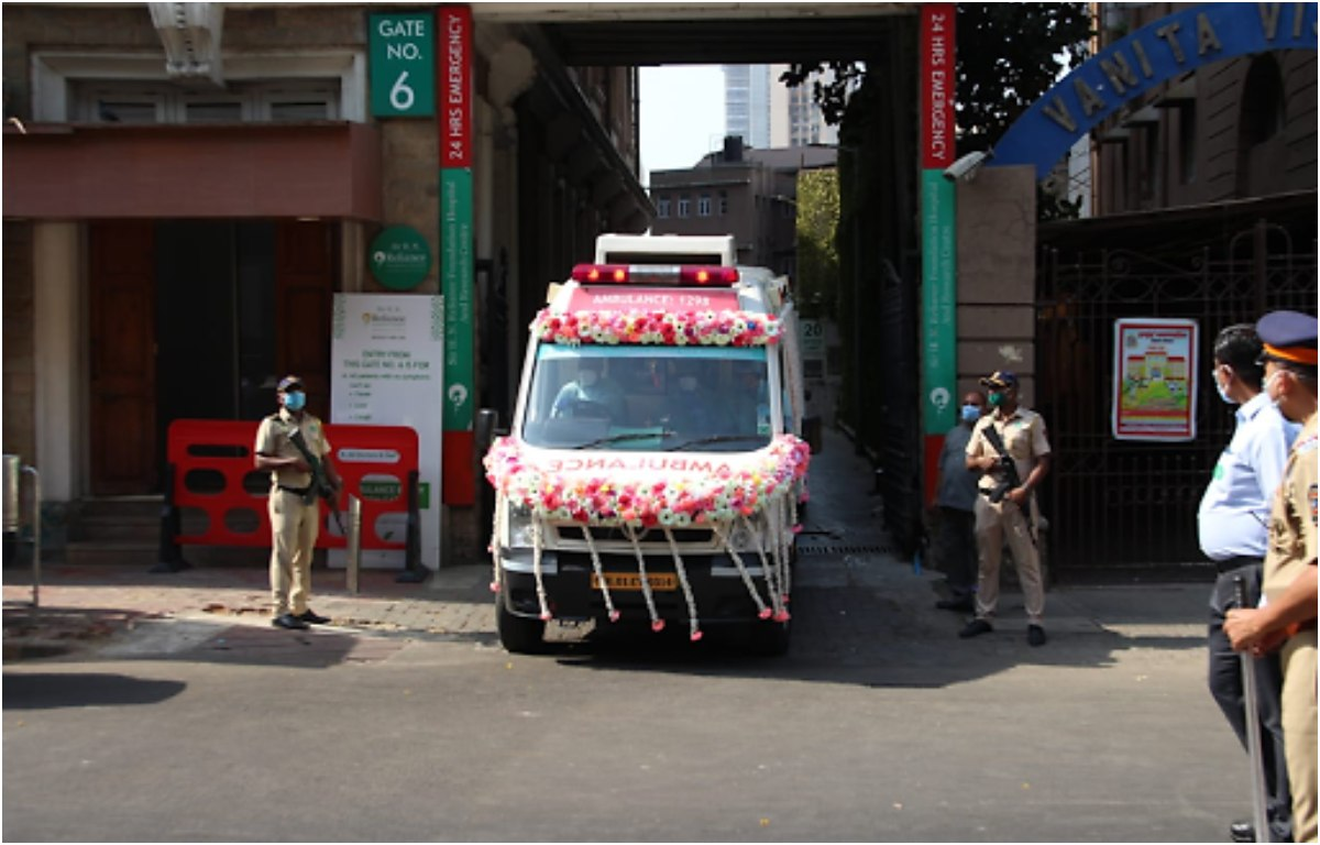 Rishi Kapoor Funeral