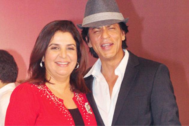 Shahrukh Khan and Farah Khan