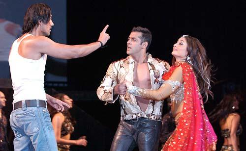 John Abraham and Salman Khan