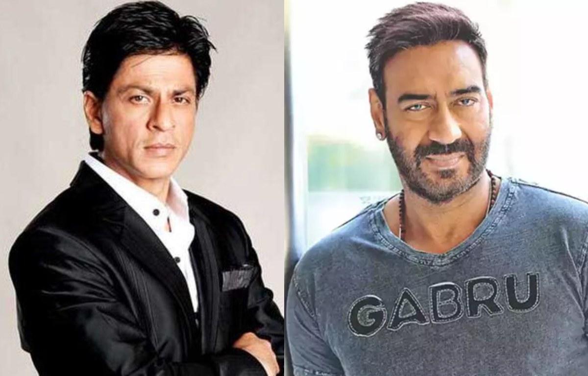 Shahrukh Khan and Ajay Devgan