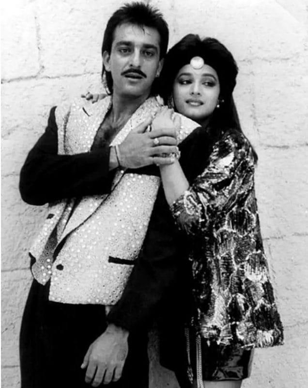 Sanjay Dutt Madhuri Dixit Controversial Love Story