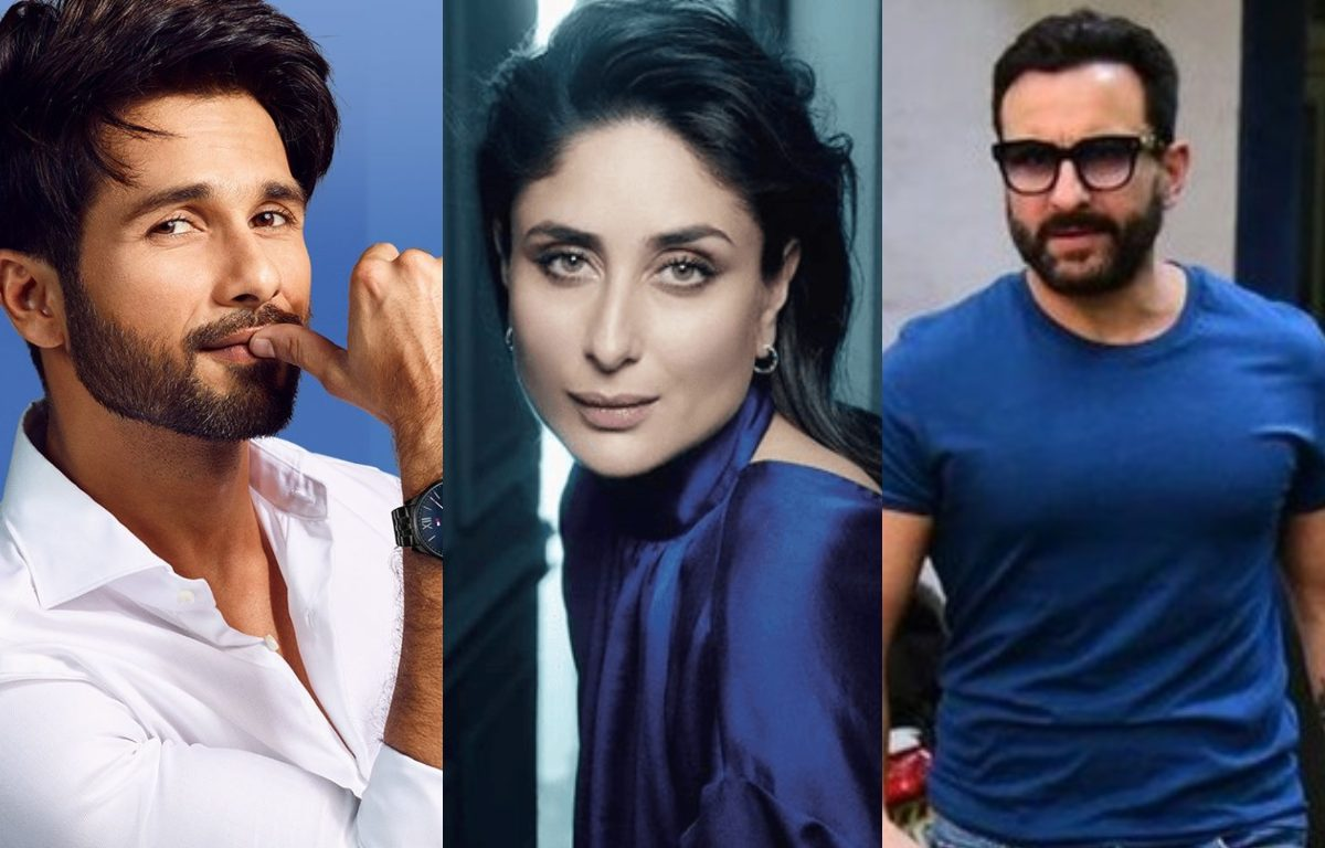 Karan Johar asked Kareena Kapoor, what will she do when she is trapped between Shahid and Saif in the lift?