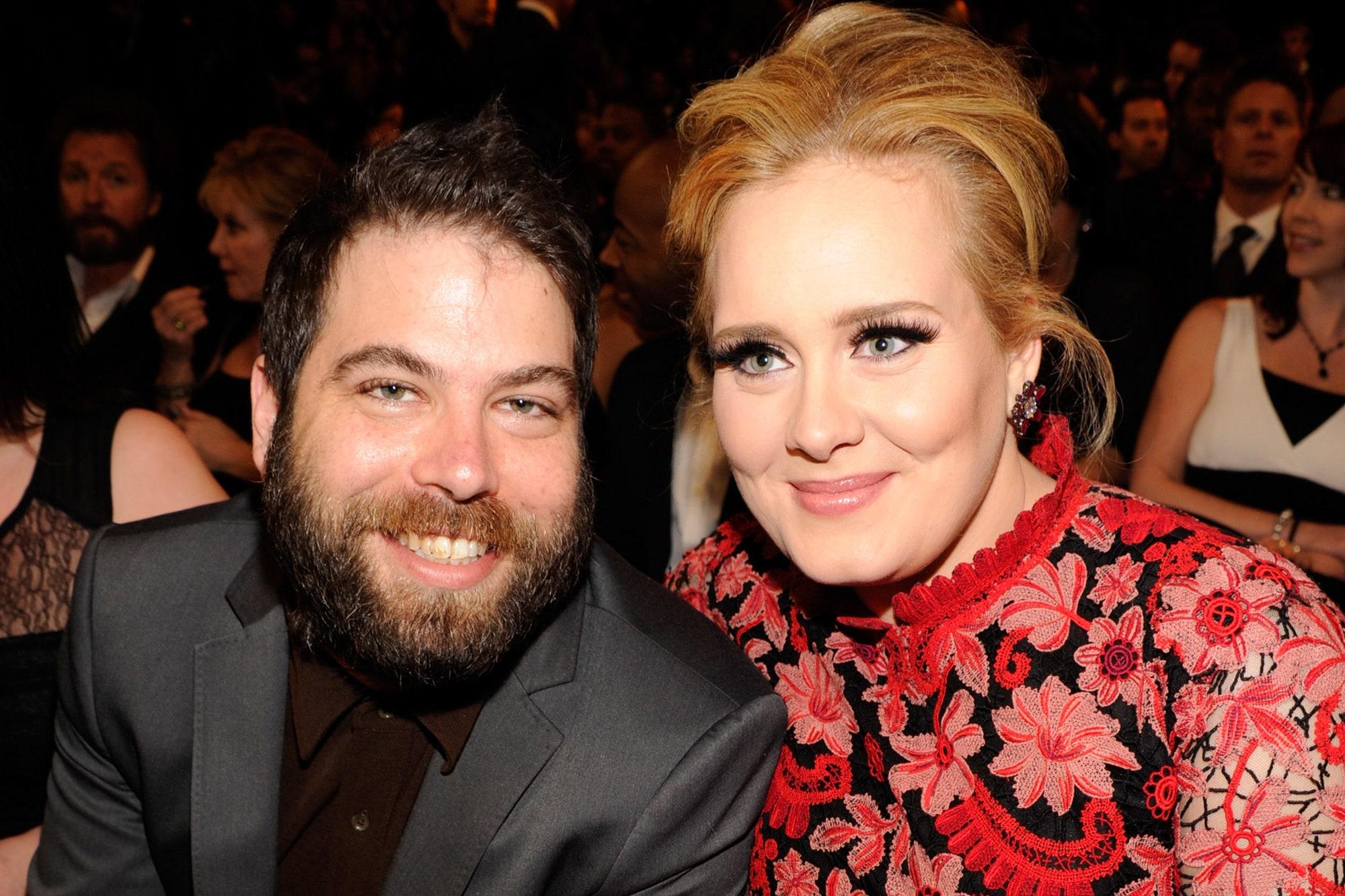 Adele Weight Loss, Adele with simon konecki