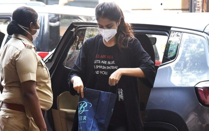 Rhea Chakraborty Arrested By NCB, She Reportedly confessed to using drugs