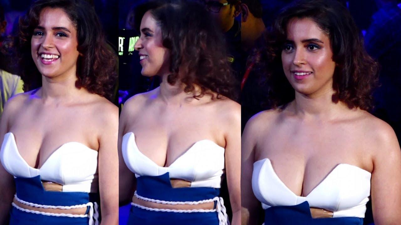 sanya-malhotra hot dress