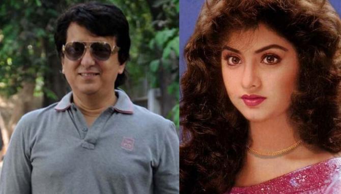 divya-bharti-with-husband sajid nadiadwala
