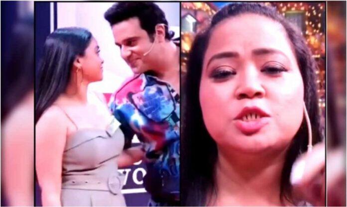 bharti singh reacts on krushna abhishek sumona chakravarti romantic photoshoot
