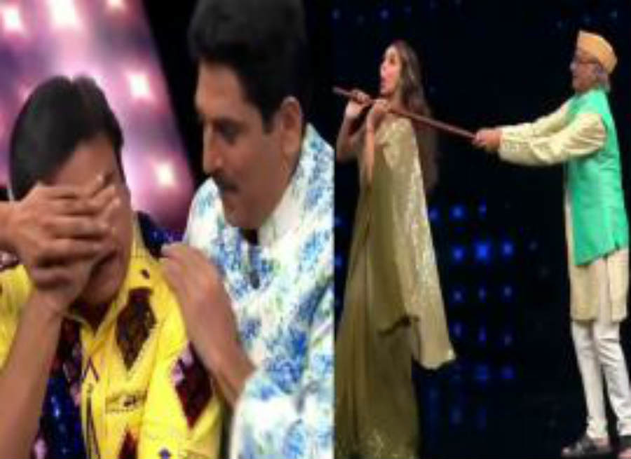 Bapuji did such a dance with Hot Malaika Arora, Jethalal closed his eyes
