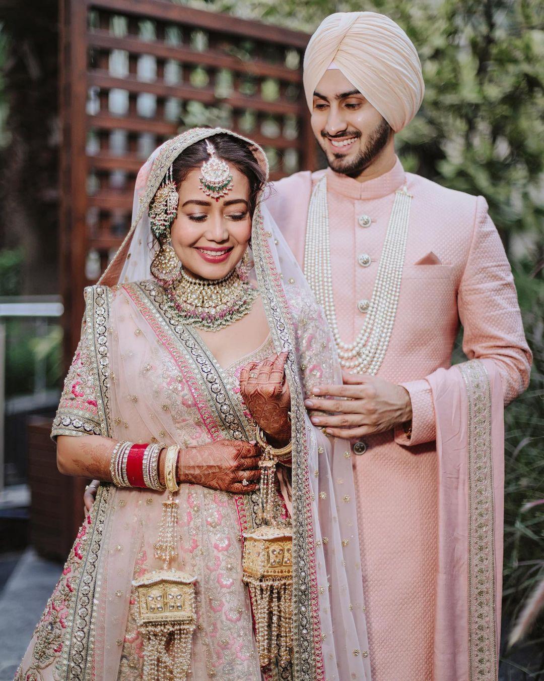 Neha Kakkar Rohanpreet wedding photos