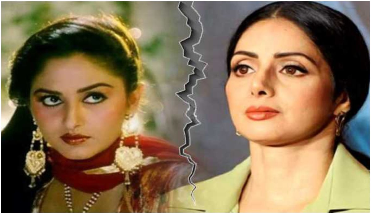 Actors Rajesh Khanna and Jitendra locked Sridevi and Jaya Prada in the makeup room