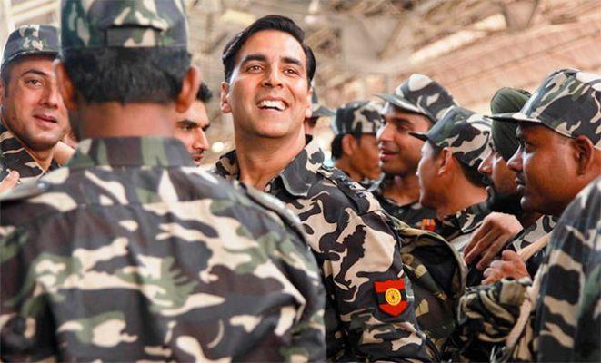 akshay kumar army