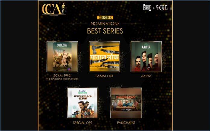 Critics Choice Awards Nominations Web Series List 2020