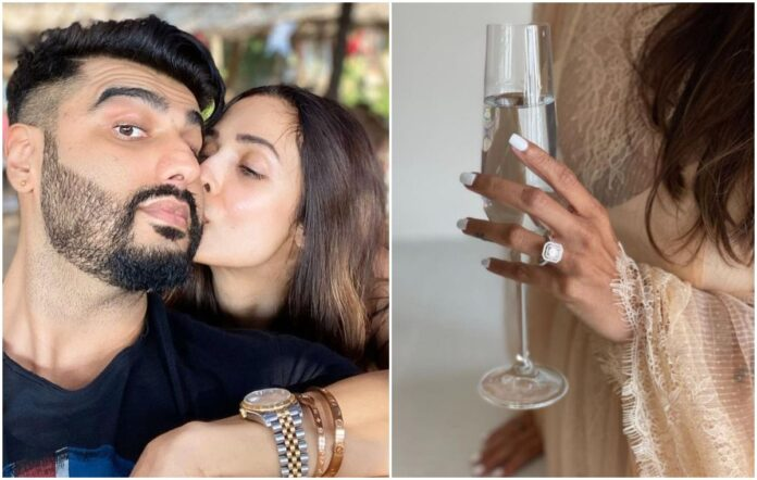 Malaika Arora flaunts diamond ring in new pics. Engaged to Arjun Kapoor, ask