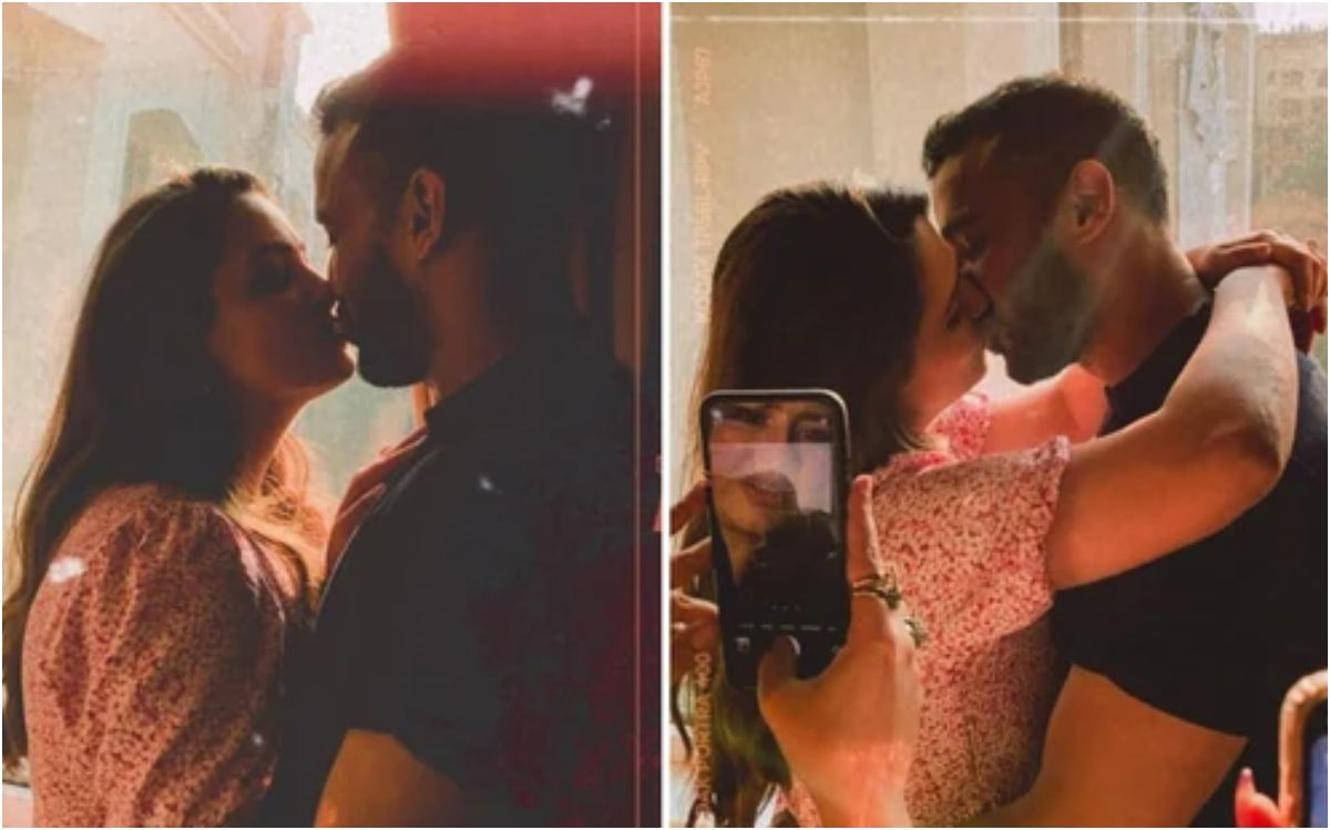 Anita Hassanandani Rohit Reddy Romantic Photos